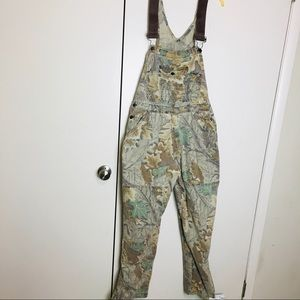 Redhead camouflage overalls